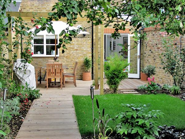 Garden design ideas for terraced house | Hawk Haven