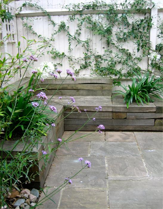 garden design ideas for terraced house photo - 2