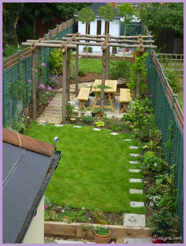 garden design ideas for terraced house photo - 3