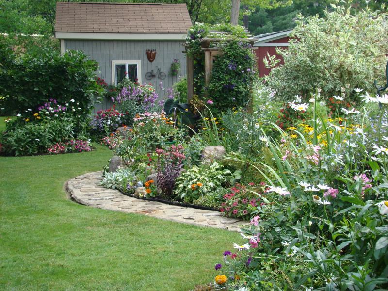 Garden Design Ideas Full Sun Photo