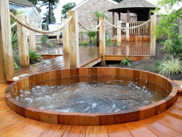 Garden design ideas hot tubs | Hawk Haven