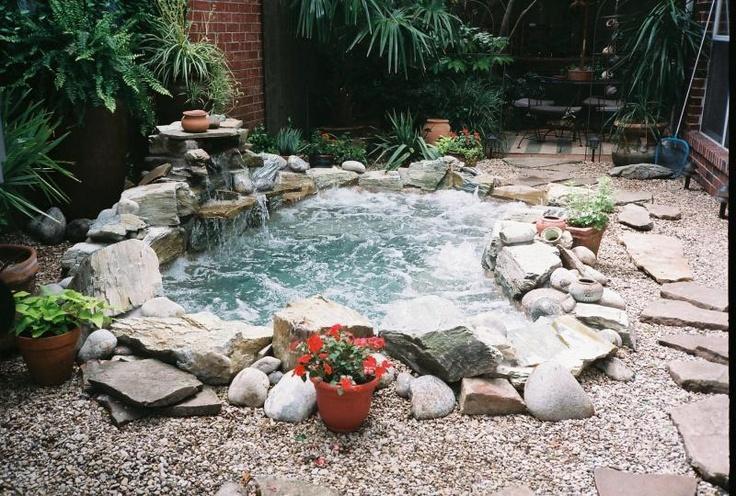 garden design ideas hot tubs photo - 10