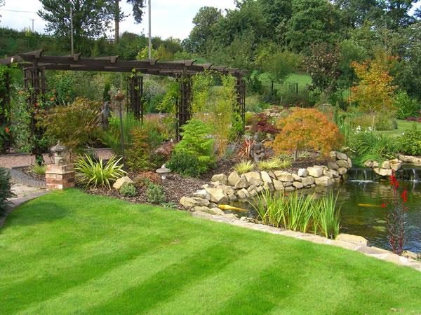 Garden design ideas large gardens | Hawk Haven