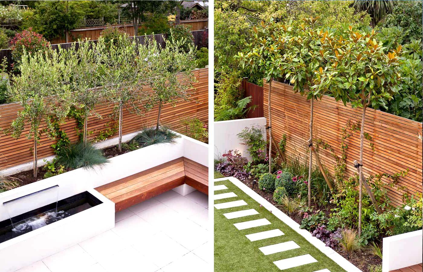garden design ideas long narrow gardens photo - 10