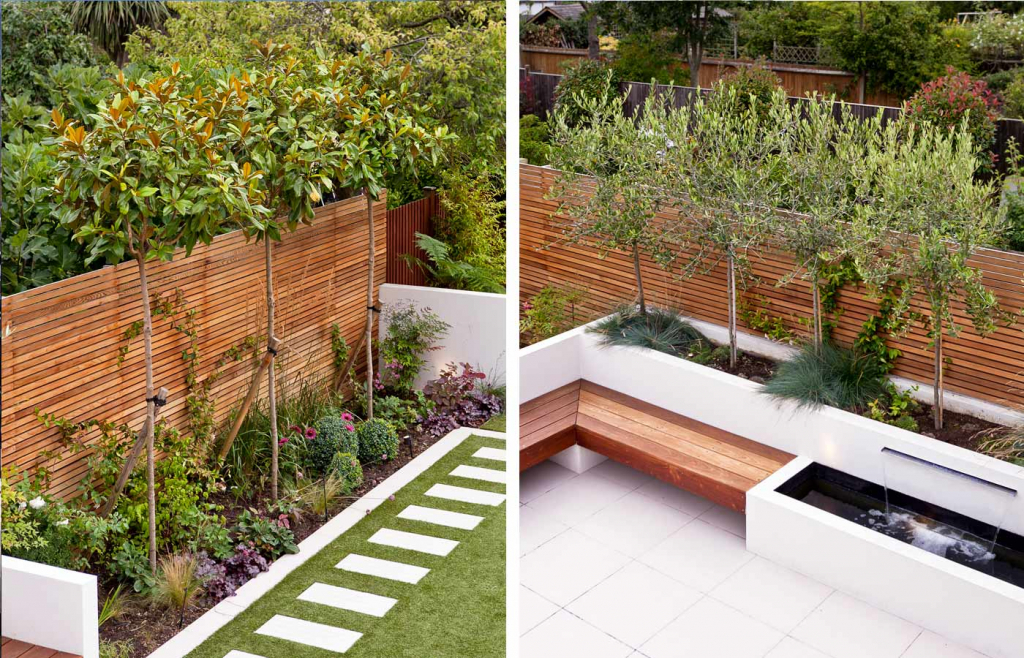 garden design ideas long thin photo - 10
