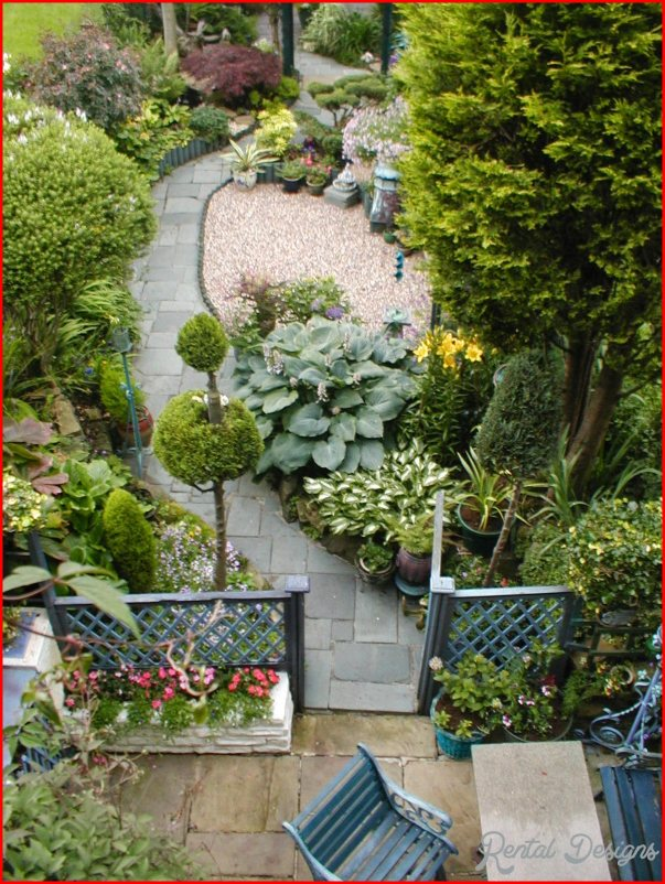 garden design ideas long thin photo - 5
