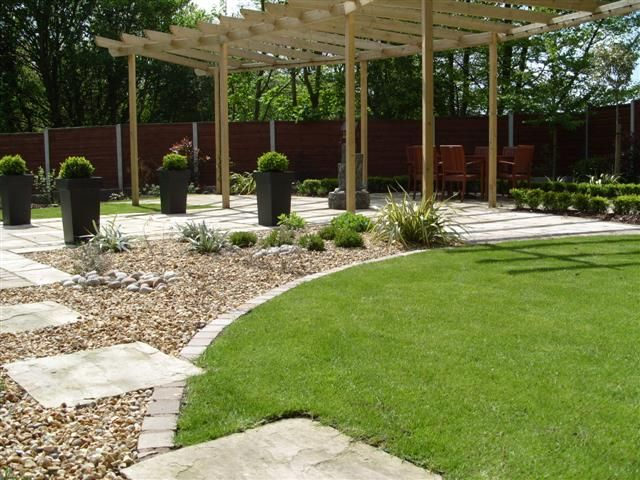 garden design ideas low maintenance photo - 7