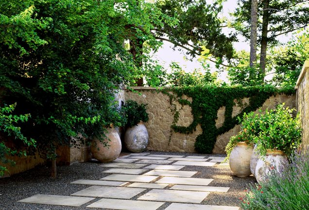 garden design ideas mediterranean photo - 3