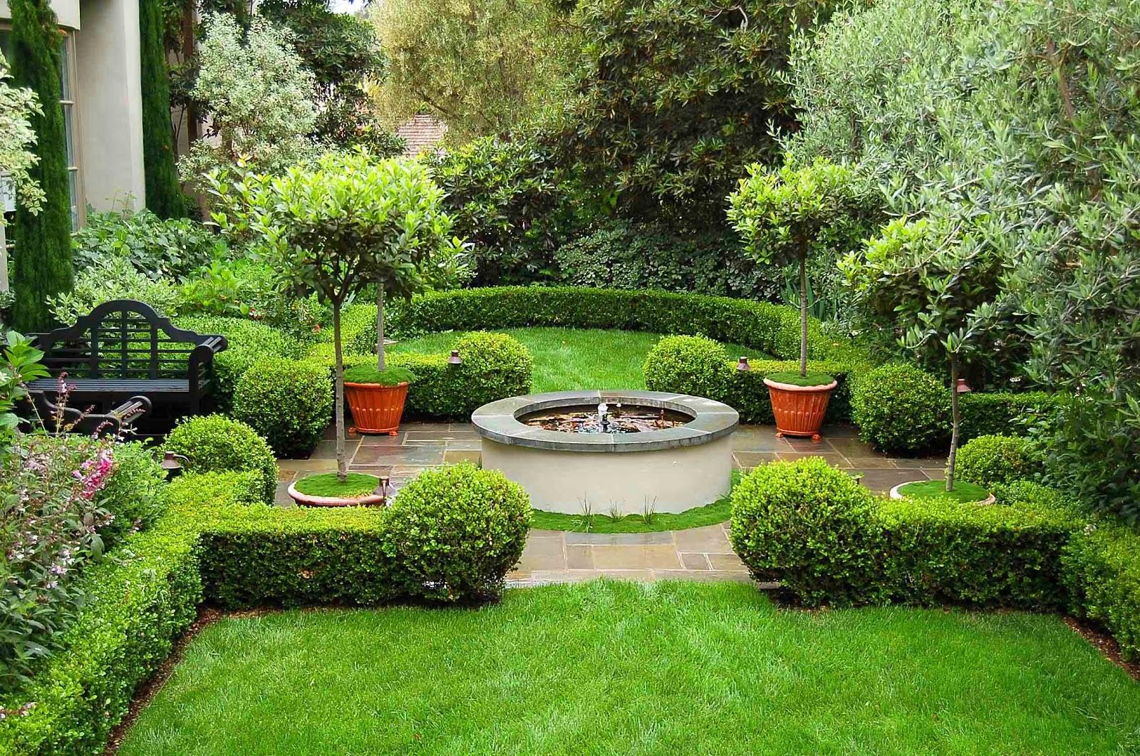 garden design ideas mediterranean photo - 4