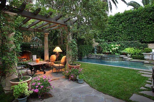 garden design ideas mediterranean photo - 5