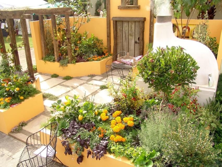 garden design ideas mediterranean photo - 6