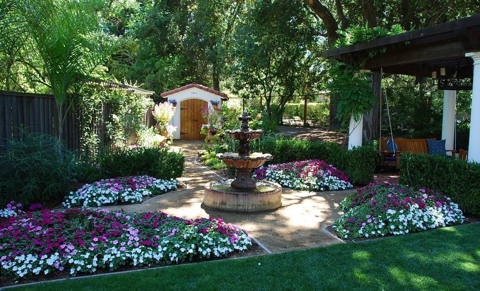 garden design ideas mediterranean photo - 7