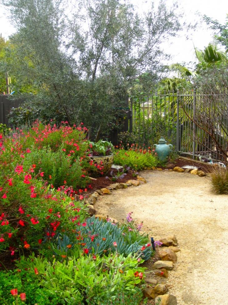 garden design ideas mediterranean photo - 8