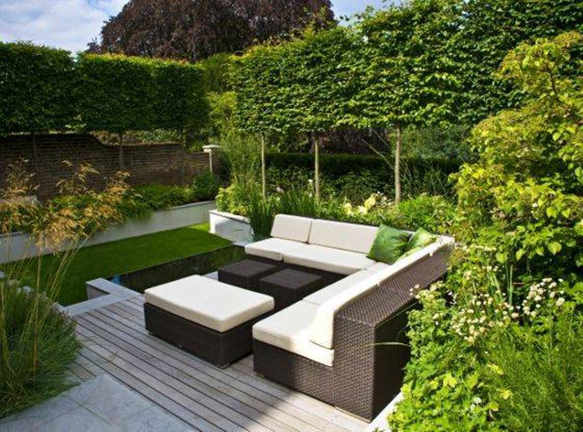 garden design ideas modern photo - 1