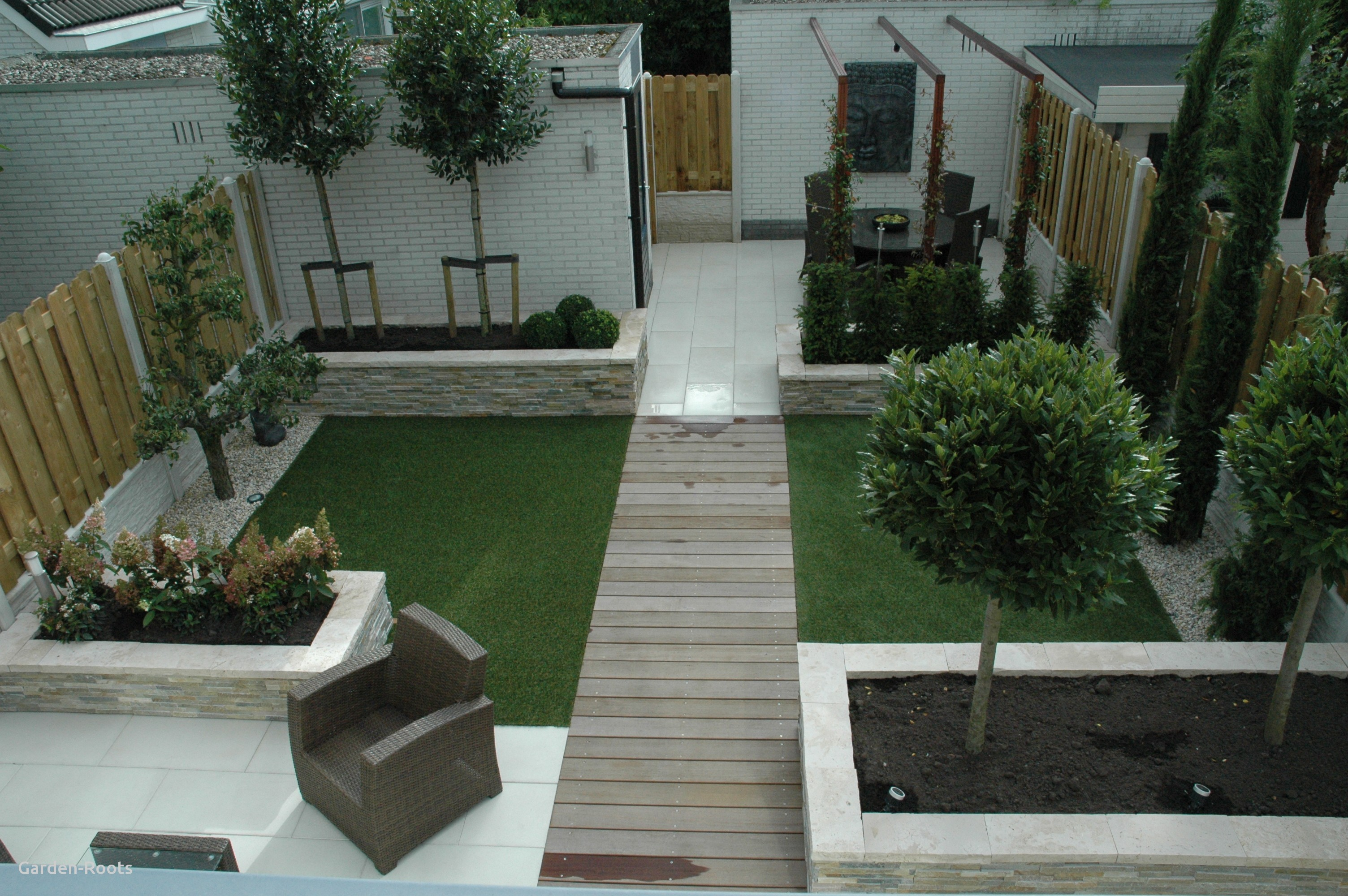 garden design ideas no grass photo - 4