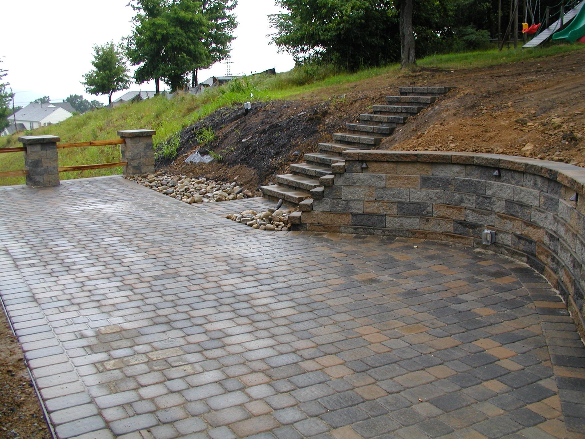 garden design ideas on a slope photo - 5