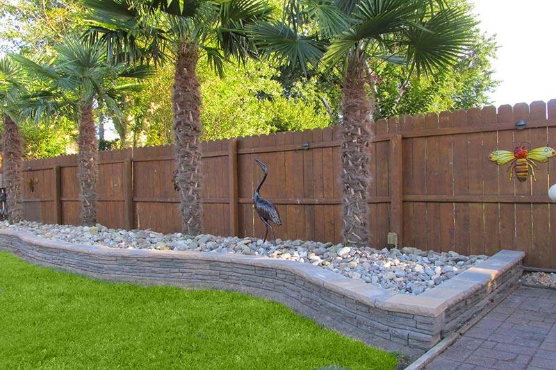 garden design ideas retaining walls photo - 5