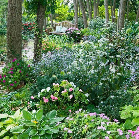 garden design ideas shade photo - 5