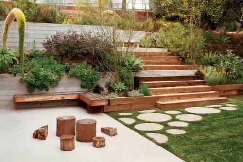 Garden design ideas steep slope | Hawk Haven