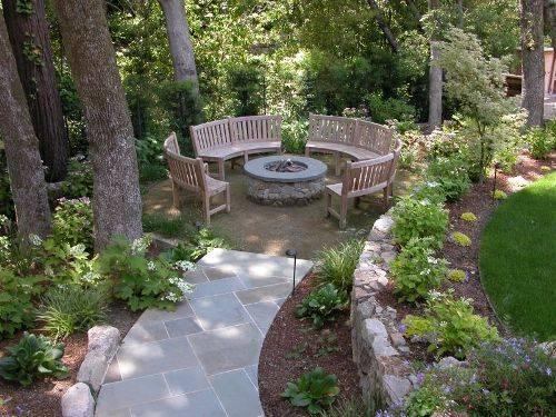 garden design ideas using gravel photo - 10