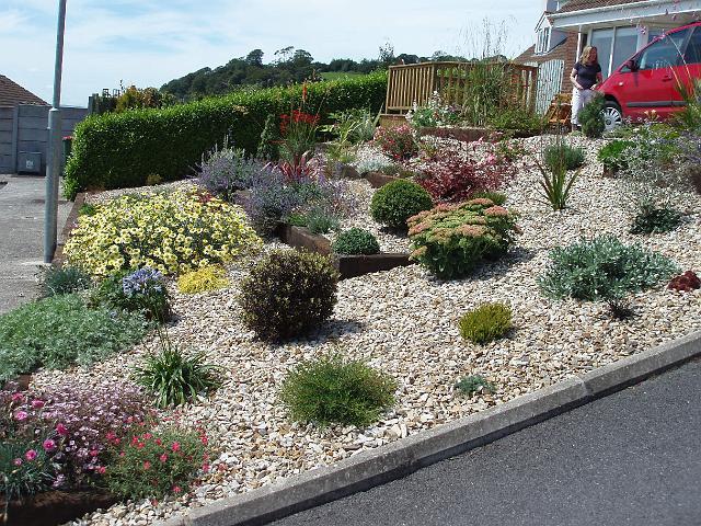garden design ideas using gravel photo - 3
