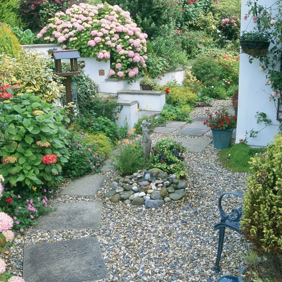 garden design ideas using gravel photo - 4