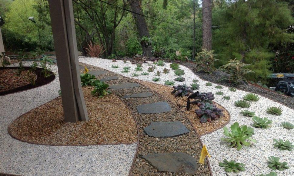 garden design ideas using gravel photo - 5