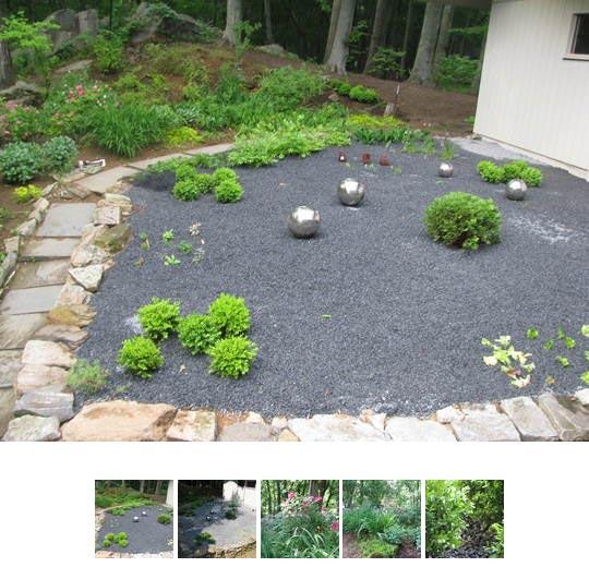 garden design ideas using gravel photo - 9