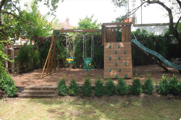 Garden Design Ideas With Childrenメs Play Area Hawk Haven
