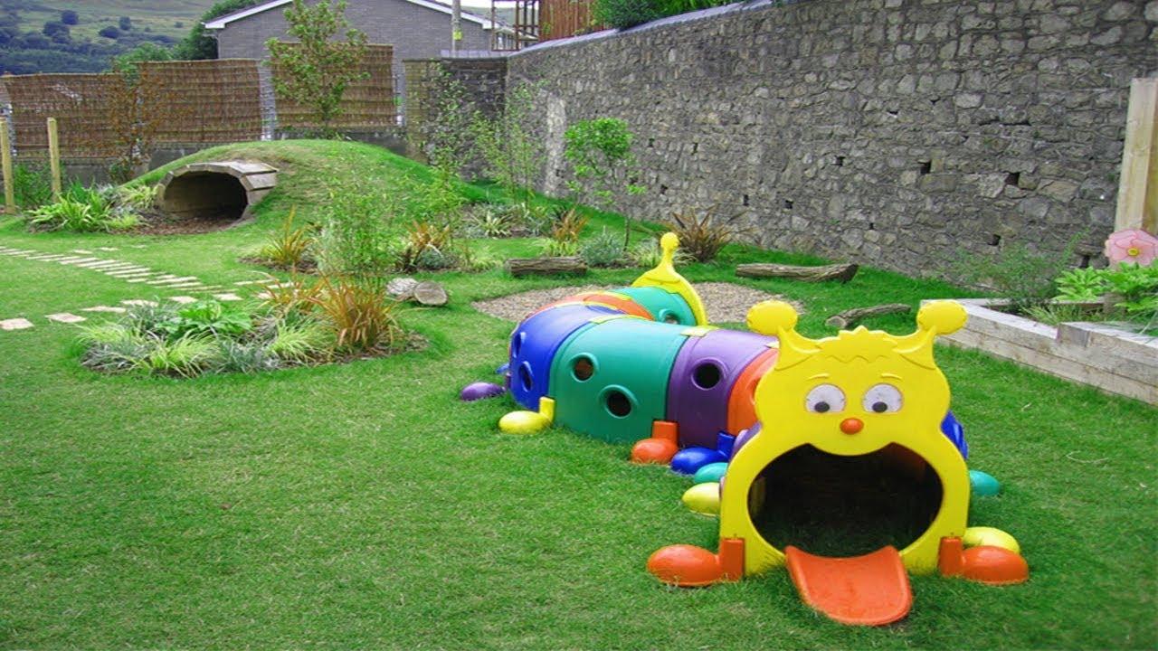 garden design ideas with childrenメs play area photo - 10