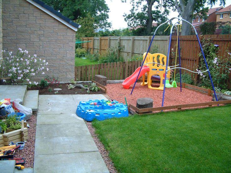 garden design ideas with childrenメs play area photo - 4