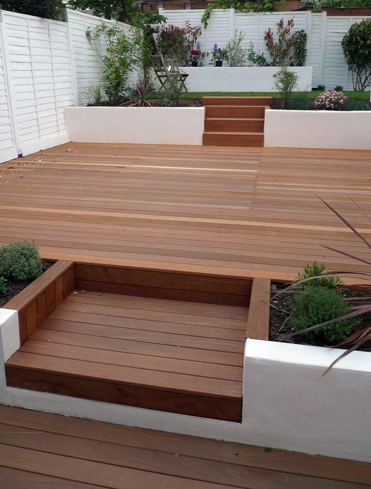 garden design ideas with decking photo - 6