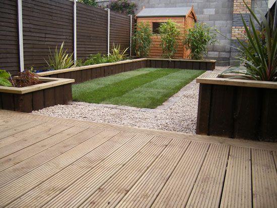 garden design ideas with decking photo - 9