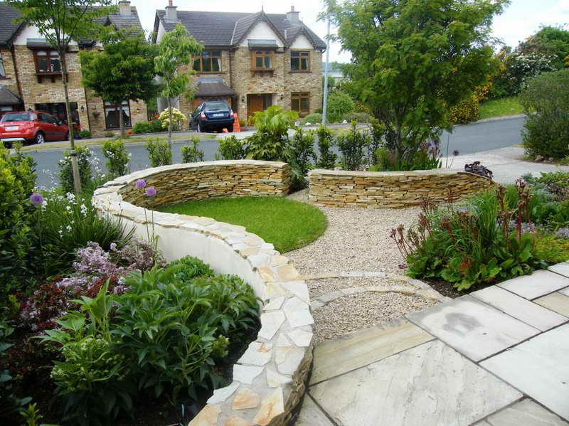 garden design ideas with stones photo - 7