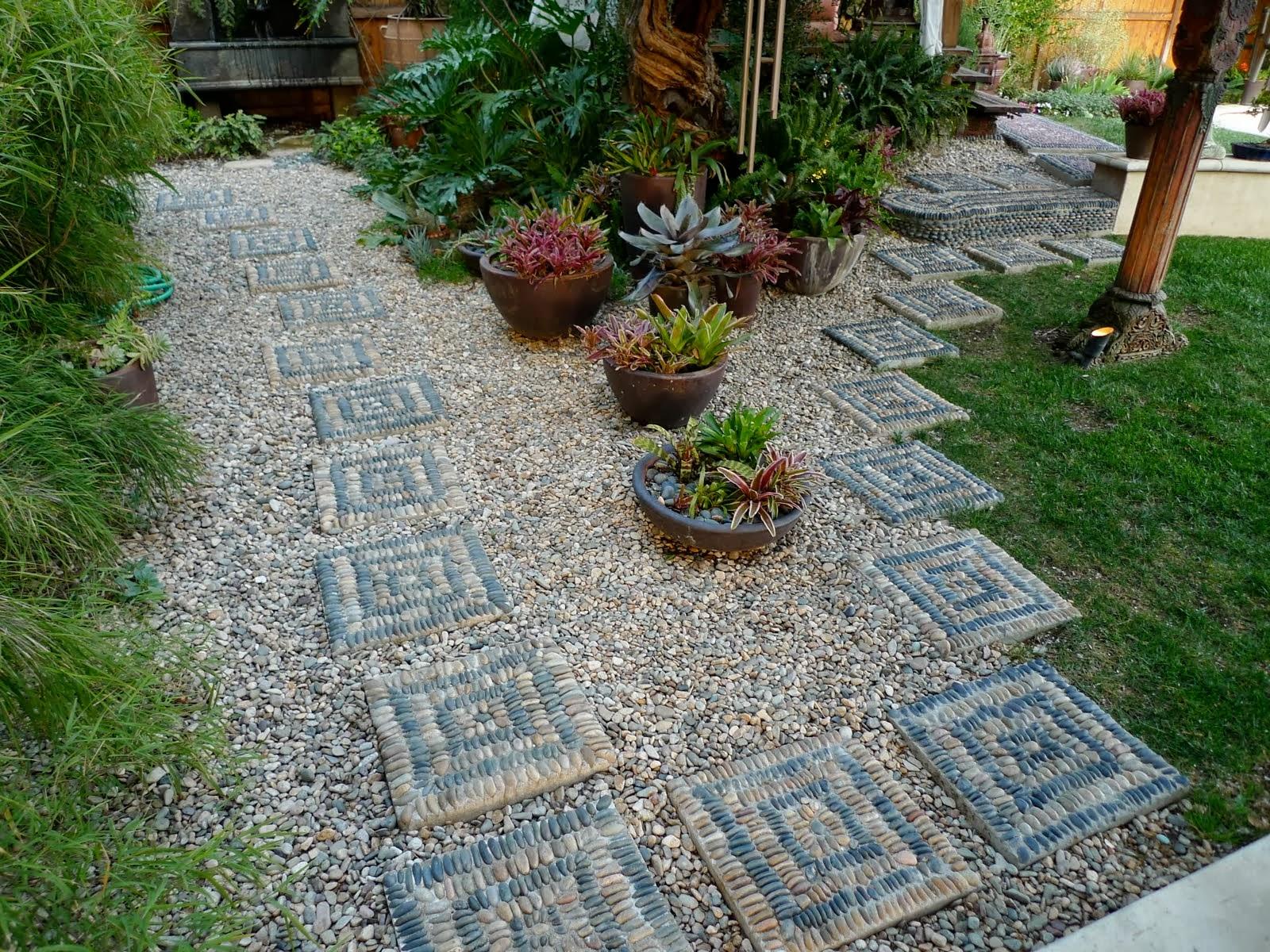 garden design ideas with stones photo - 9