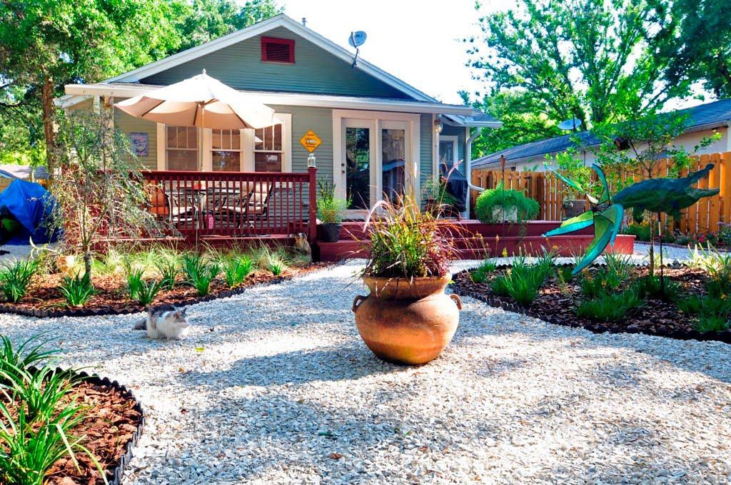 garden design ideas without grass photo - 1