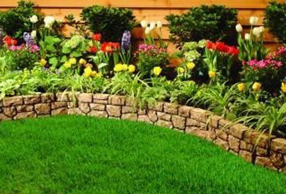 garden edging design ideas photo - 1