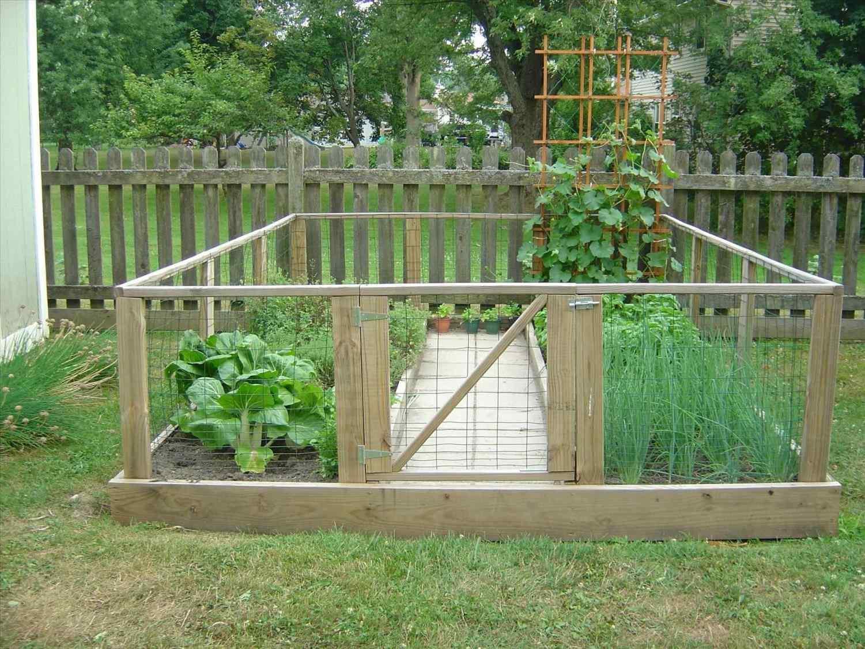 garden fence ideas for rabbits photo - 9