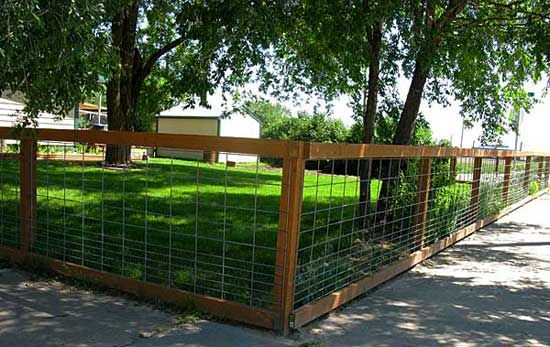 garden fencing ideas for dogs photo - 10