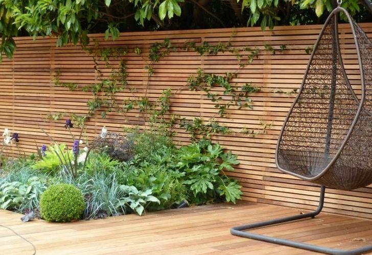 garden fencing ideas modern photo - 3