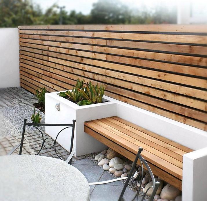 garden fencing ideas modern photo - 5