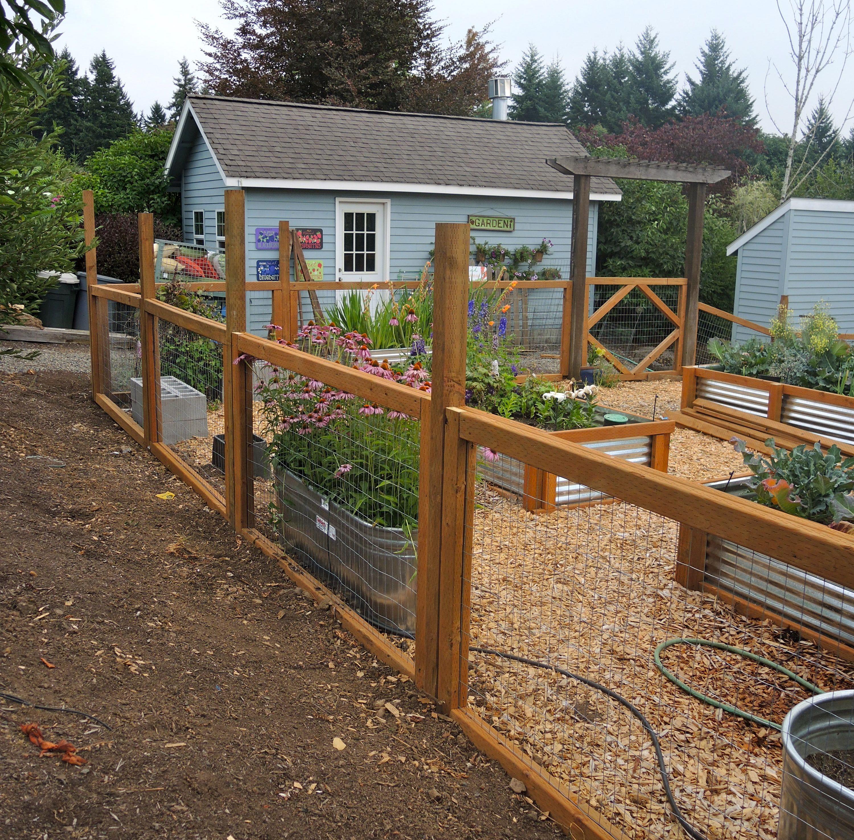 garden fencing ideas photos photo - 9