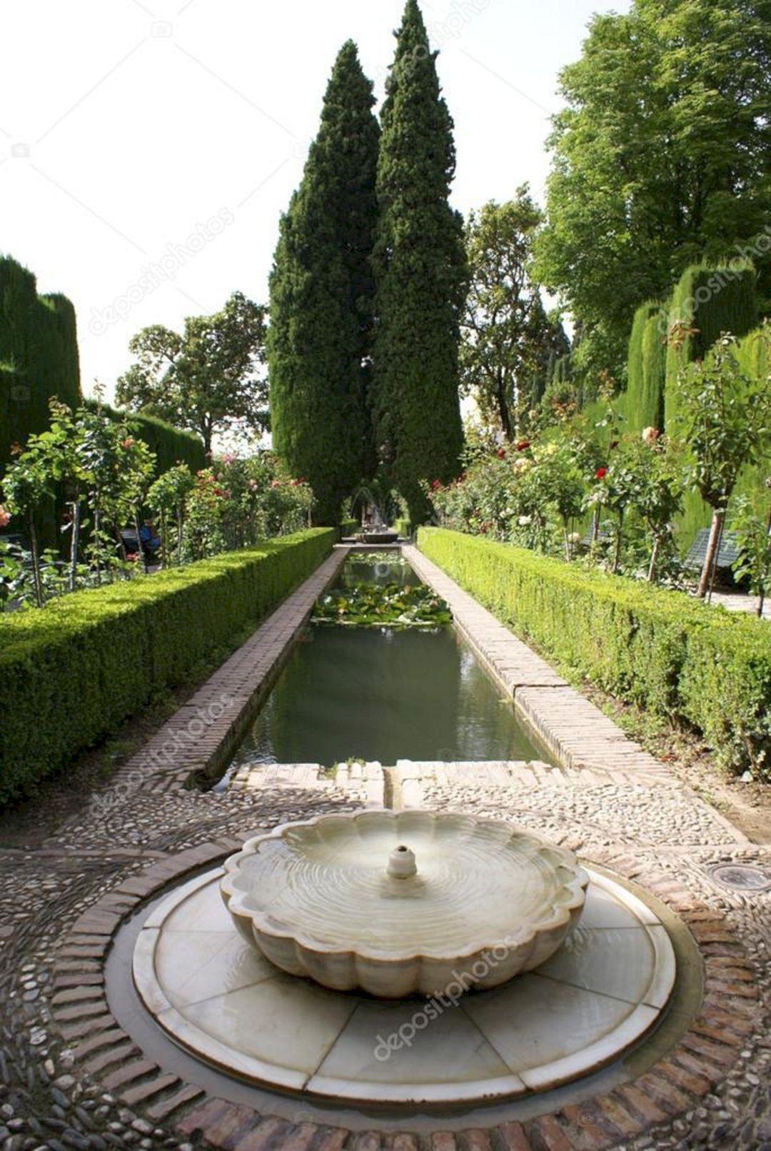 garden fountain design ideas photo - 6