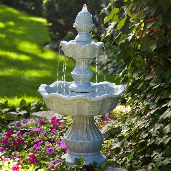 Garden water fountains ideas | Hawk Haven