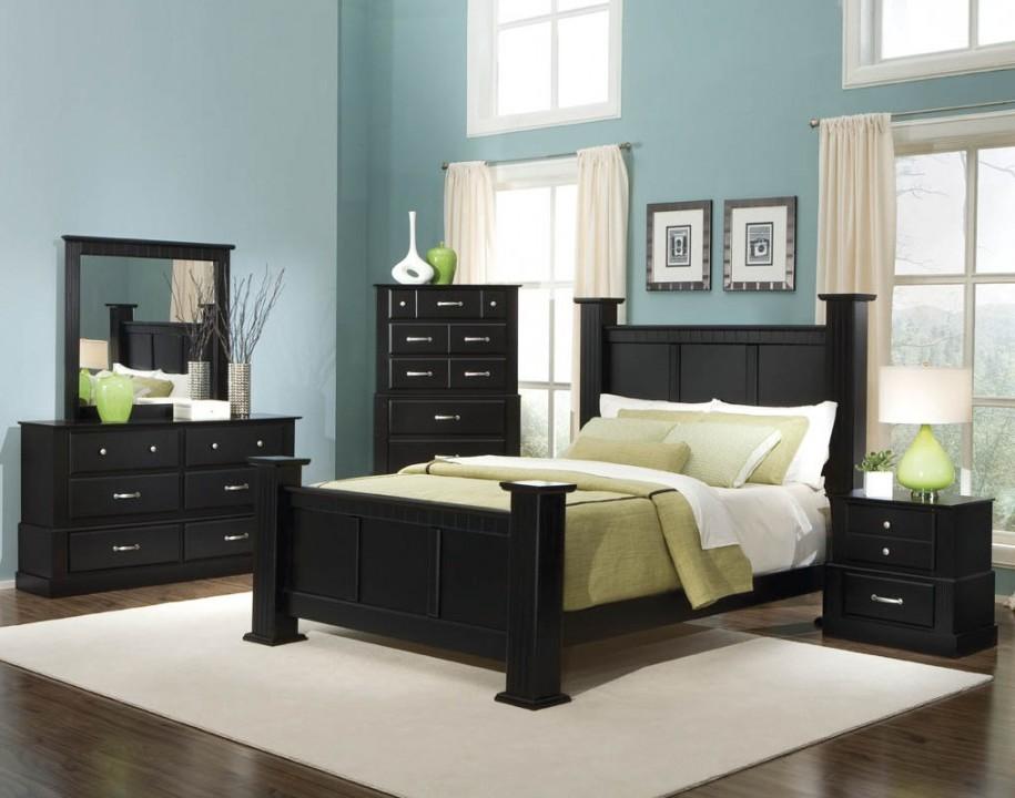 girls bedroom furniture black photo - 2