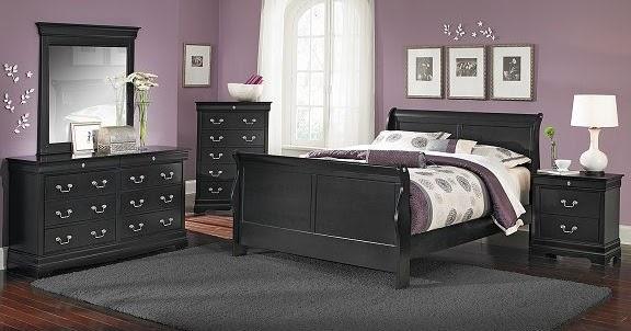 girls bedroom furniture black photo - 5