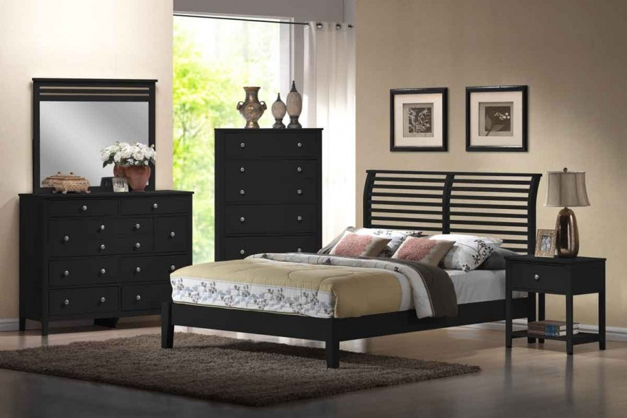 girls bedroom furniture black photo - 6