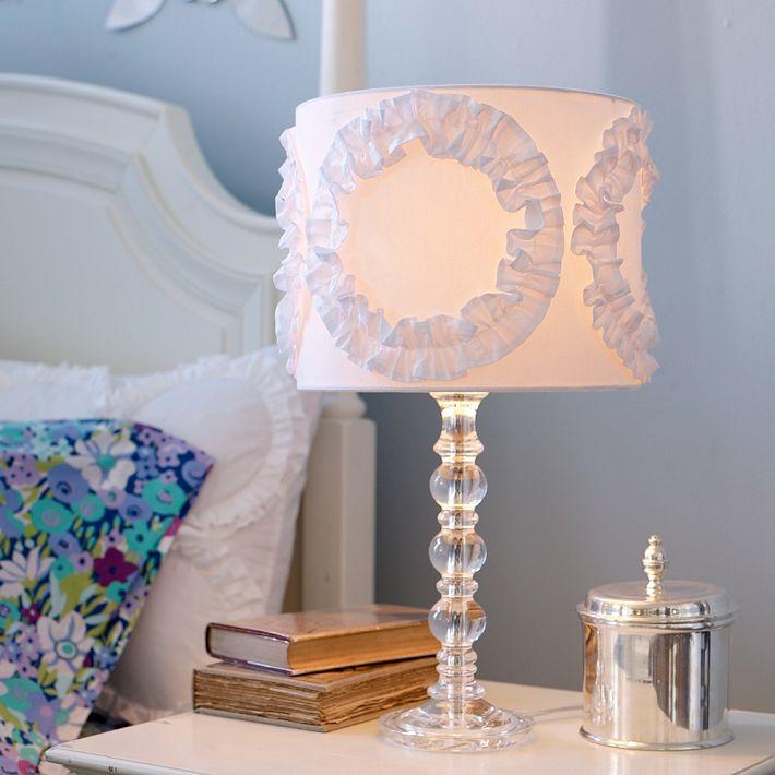 girls bedroom lamp shades photo - 2
