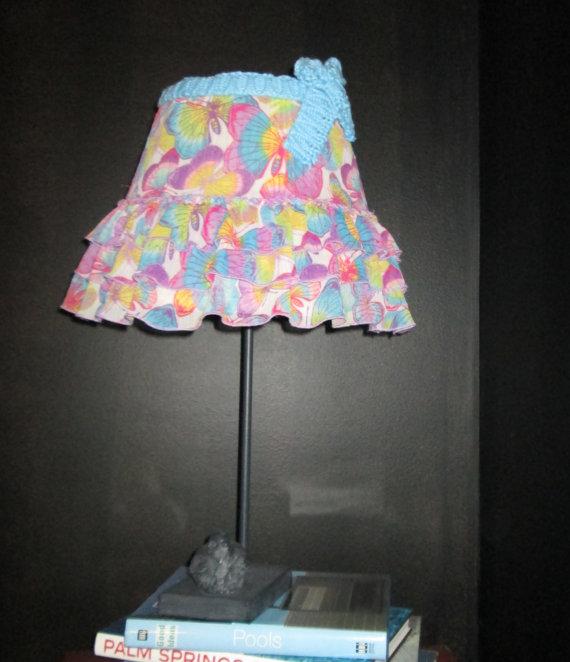 girls bedroom lamp shades photo - 7