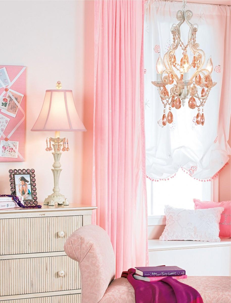 girls bedroom lamp shades photo - 9